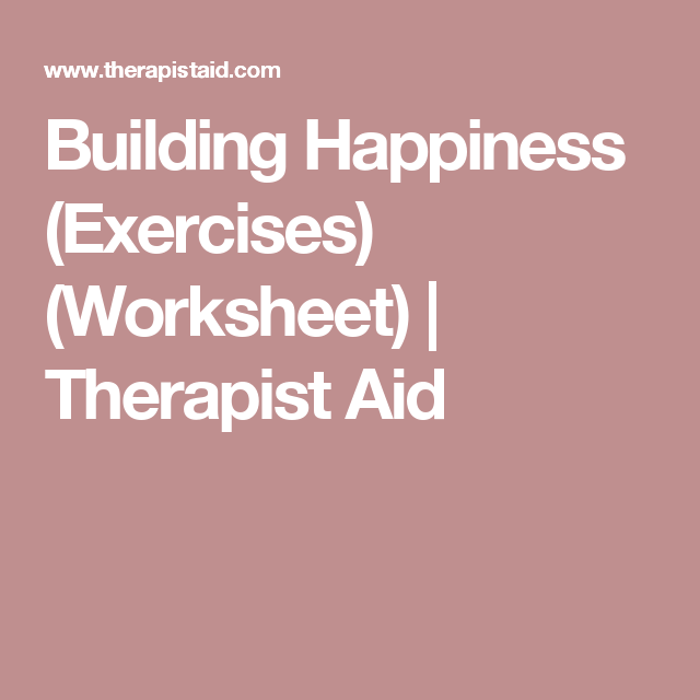 Building Happiness (exercises) (worksheet