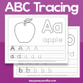 Printable Alphabets Worksheets