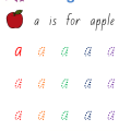 Worksheets Of Alphabet