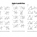 Parallel Lines Worksheets