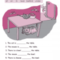 Prepositions Worksheets Grade 2