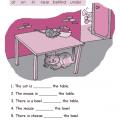 Prepositions Worksheets Grade 2