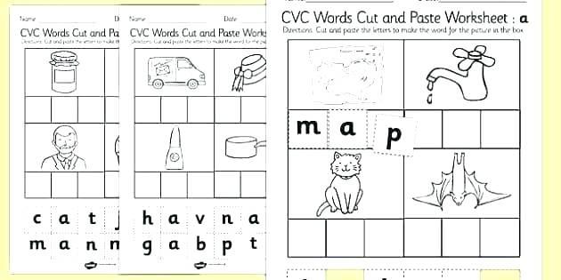 Segmenting Worksheets