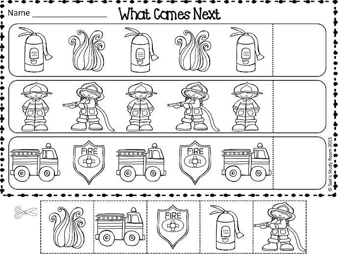 C Juniors Fire Drill Worksheets Kindergarten Free Fire Safety