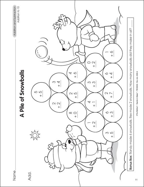 How To Teach Addition And Subtraction To 1st Grade