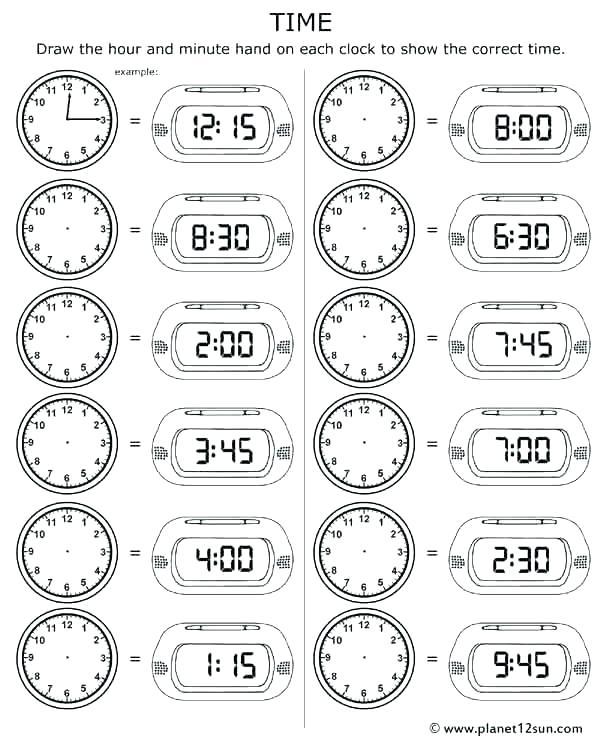 Clock Practice Worksheets 2nd Grade Tamil Worksheets Ideas Telling