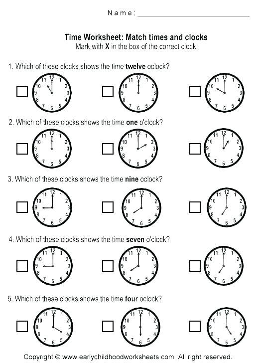 Clock Time Worksheet Fun Telling Time Worksheets Have Teaching