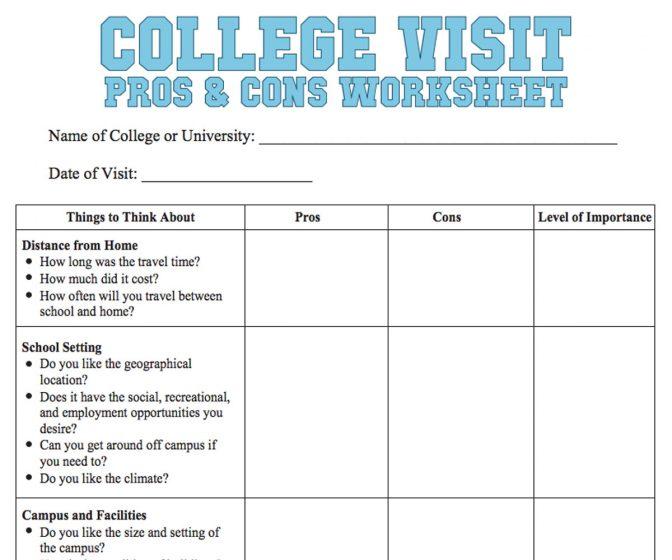 Mortgage Comparison Spreadsheet New College Parison Worksheet