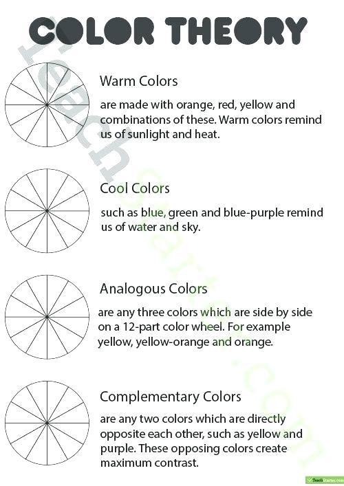 Color Orange Worksheets