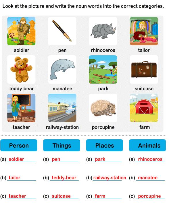 Noun Grade2 Worksheet7