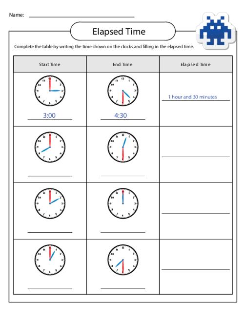 Time Worksheet  New 662 Time Elapsed Worksheets 3rd Grade