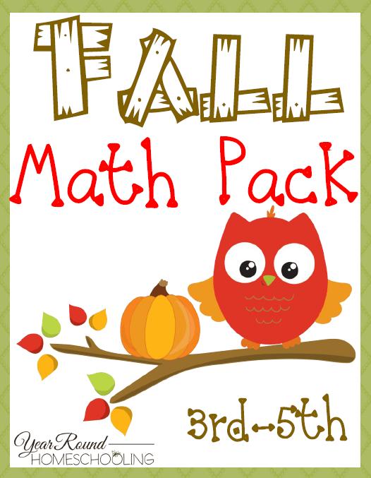 Free Fall Math Pack (3rd