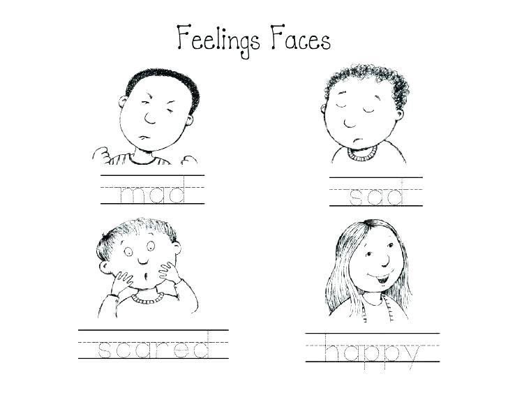 Feelings Worksheets – Odmartlifestyle Com