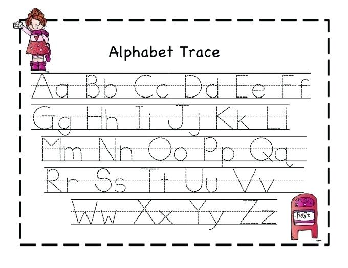 Free Alphabet Worksheets For Kindergarten Kindergarten Worksheets