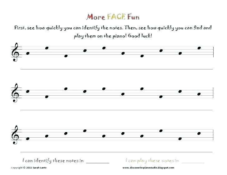 Music Staff Worksheets For Beginners Spelling Bees Piano Studio