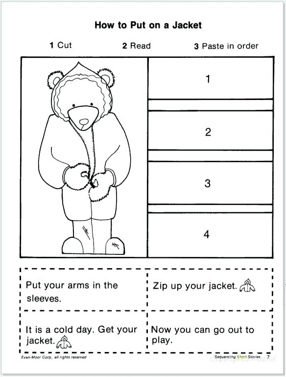 Sequencing Worksheets For 1st Grade