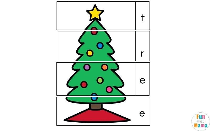 Free Printable Worksheets Fun With Mama Free Printable Christmas
