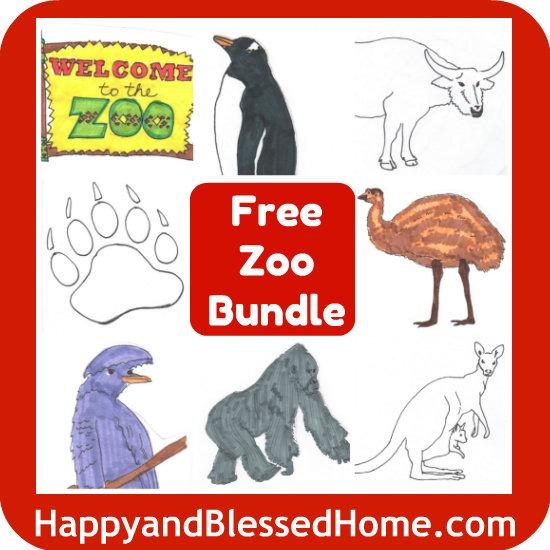 Free Zoo Worksheets Printable Bundle