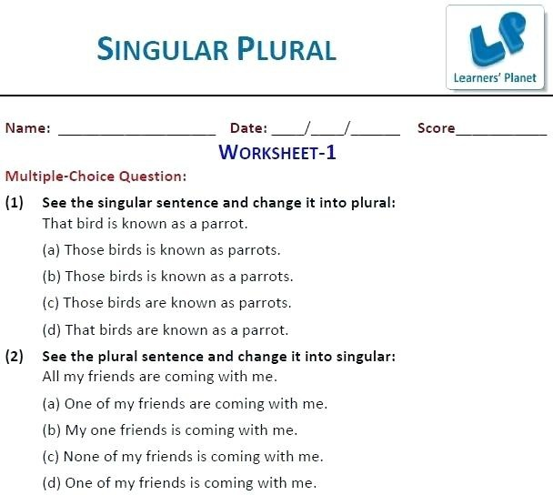 Grammar For Kids Worksheets Free  Worksheets  Faafl Org