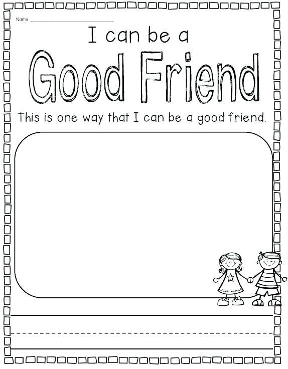 Good Manners Worksheets For Kindergarten