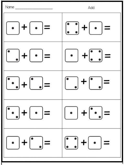 Kindergarten Math Sheets Printables Ibovjonathandedecker