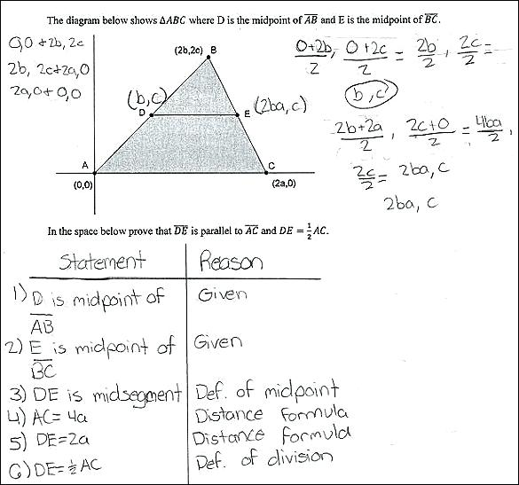 Midpoint Worksheets Constructing Midpoints Midpoint And Distance