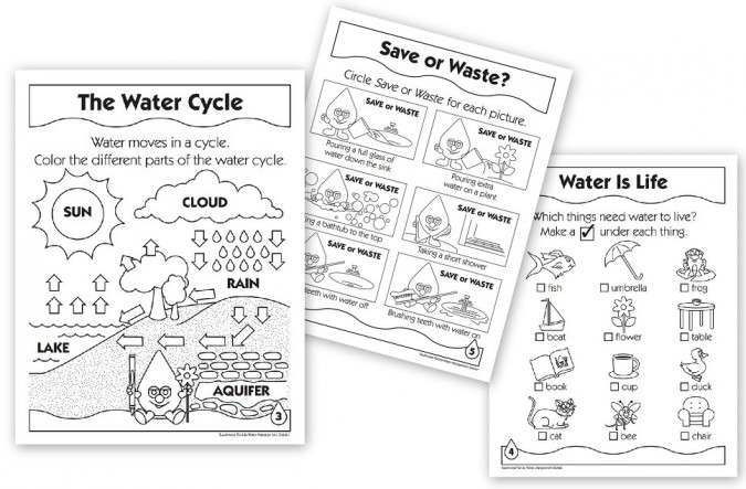 Free Water And Water Cycle Resources