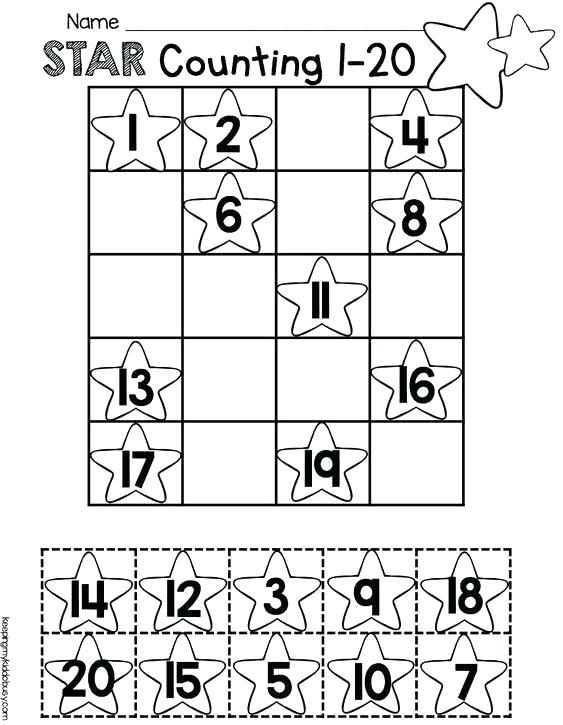 Numbers 1 20 Worksheets Math Practice Writing Numbers 1 Worksheet