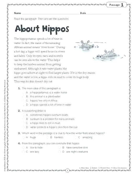 Reading Comprehension Worksheets High School Together With