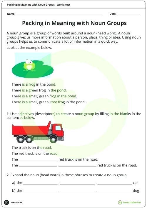 Sentence Structure Worksheets Ks2
