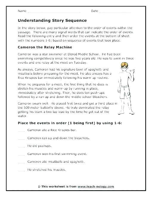 Free Story Plot Worksheets