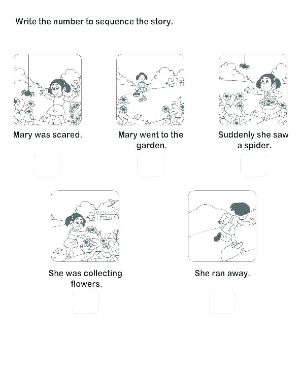 Sequencing Events Worksheets For Grade 3 Picture Sequence
