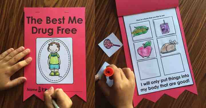 Red Ribbon Week In Kindergarten