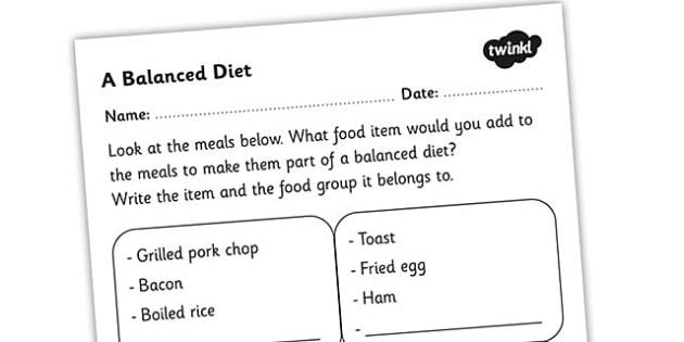 Ks2 Science Nutrition Worksheets, Nutrition, Worksheets, Health