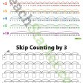 Skip Counting By 3's Worksheets