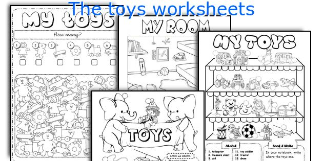 The Toys Worksheets