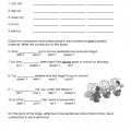 Worksheets For Third Grade