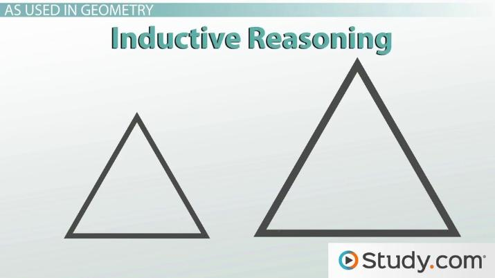 Inductive & Deductive Reasoning In Geometry  Definition & Uses