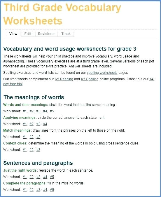 Vocabulary Context Clues Worksheets New Grade 3 Vocabulary