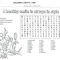 Healthy Habits For Kids Worksheets