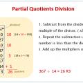 Partial Quotient Division Worksheets 4th Grade