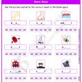 Worksheets Grade 1 English