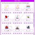 Worksheets Grade 1 English