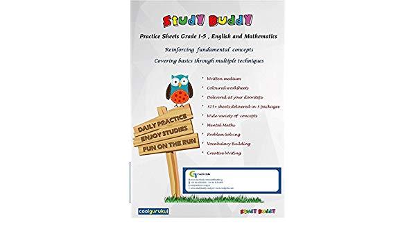 Buy Studybuddy (grade 2, English)   Kids Practice Worksheet