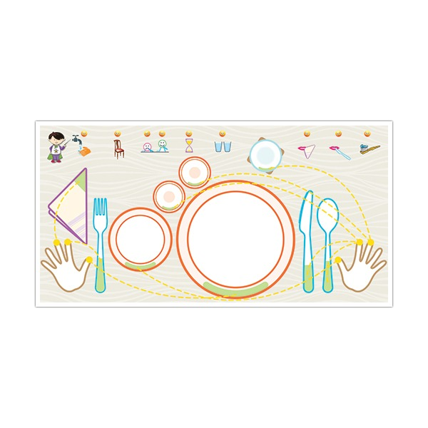 My First Table Manners Worksheet