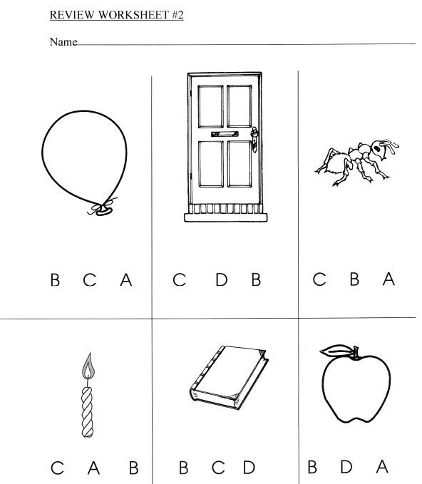Alphabet Assessment   Review Pages, Games, Worksheets