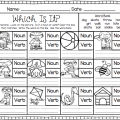 Kindergarten Verb Worksheets