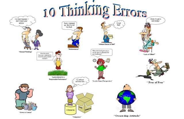 Thinking Errors For Kids