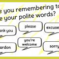 Polite Expressions Worksheets