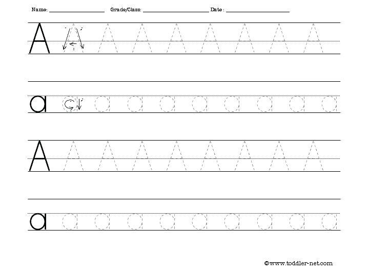 Alphabet Tracing Worksheets Pdf Alphabet Tracing Worksheets For